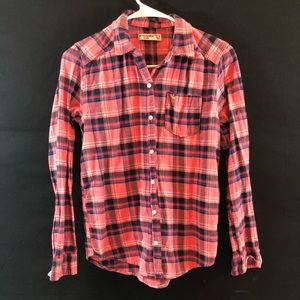 3 Aeropostale long sleeved flannels